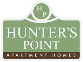 Hunters Point Apartments logo